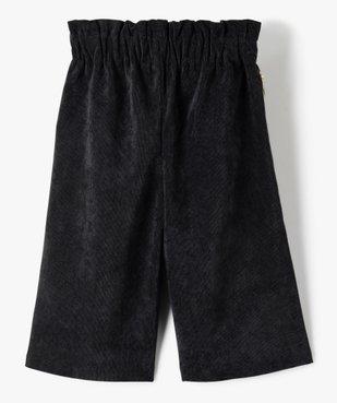Pantalon fille ample en velours côtelé vue3 - Nikesneakers (ENFANT) - Nikesneakers