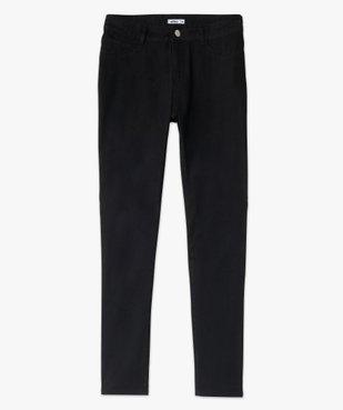 Pantalon femme en toile coupe Slim vue4 - GEMO(FEMME PAP) - GEMO