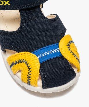 Sandales bébé garçon multicolores doublées cuir - Geox vue6 - GEOX - GEMO