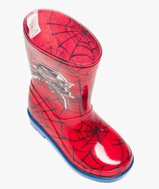 Bottes de pluie garçon à imprimé Spiderman vue5 - SPIDERMAN - GEMO