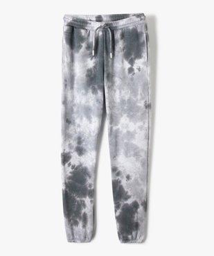Pantalon de jogging fille bicolore effet tie and dye vue1 - GEMO (JUNIOR) - GEMO