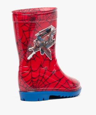 Bottes de pluie garçon à imprimé Spiderman vue4 - SPIDERMAN - GEMO