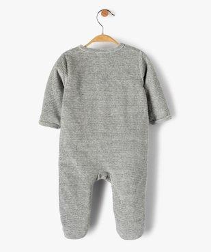 Pyjama bébé garçon avec motifs étoiles et fusée vue5 - GEMO(BB COUCHE) - GEMO