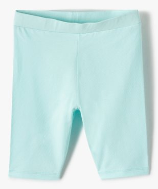 Short fille en maille extensible façon leggings vue2 - GEMO (ENFANT) - GEMO