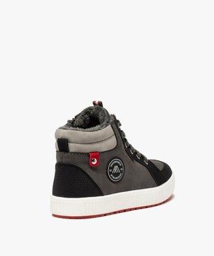 Boots garçon à semelle contrastante et col rembourré vue4 - Nikesneakers (ENFANT) - Nikesneakers