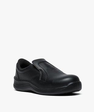 Chaussures professionnelles femme mocassin sécurité S2 vue2 - GEMO (SECURITE) - GEMO