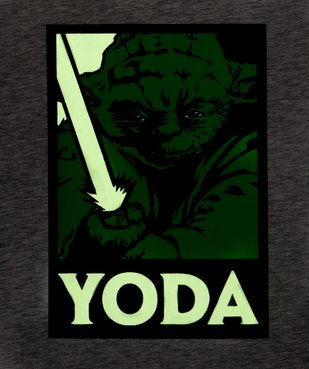 Tee-shirt homme avec motif Maitre Yoda – Star Wars vue5 - STAR WARS - GEMO