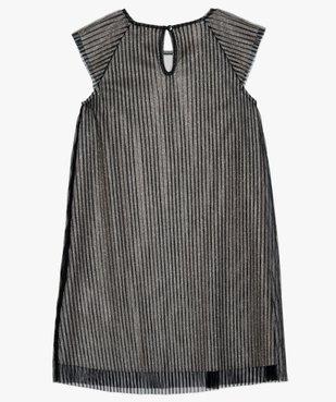Robe de fête fille en tulle plissé et paillettes vue3 - Nikesneakers (ENFANT) - Nikesneakers