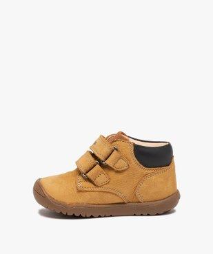 Chaussures premiers pas bébé en cuir - Geox vue3 - GEOX - GEMO