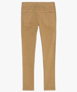 Pantalon garçon style jean slim 5 poches vue4 - Nikesneakers (JUNIOR) - Nikesneakers
