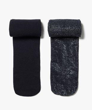 Collants fille semi-opaques (lot de 2) vue1 - GEMO (ENFANT) - GEMO