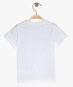 Tee-shirt bébé garçon à manches courtes avec motif vue3 - GEMO C4G BEBE - GEMO