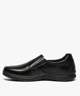Mocassins homme confort unis à enfiler vue3 - ZEN AIR - Nikesneakers