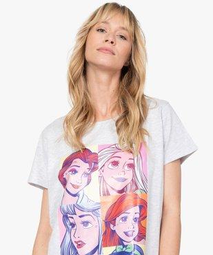 Chemise de nuit femme avec motif princesses - Disney vue2 - DISNEY DTR - GEMO