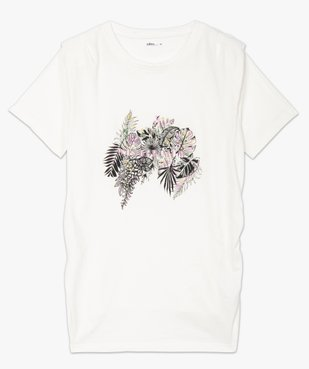 Tee-shirt de grossesse à épaulettes vue4 - GEMO (MATER) - GEMO
