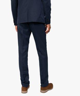 Pantalon de costume homme coupe ajustée vue3 - GEMO (HOMME) - GEMO