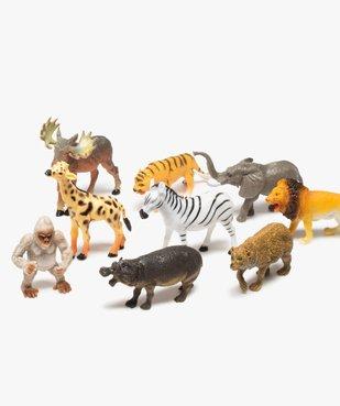 Figurines animaux sauvages (lot de 12) – Kim Play vue2 - KIM PLAY - GEMO