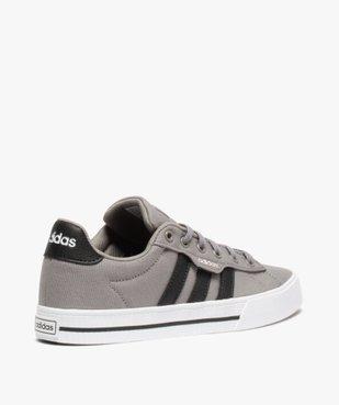 Tennis garçon à lacets en toile bicolores – Adidas vue4 - ADIDAS - Nikesneakers