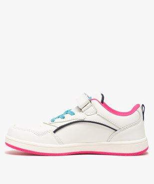 Baskets fille avec bandes colorées – LA Gear vue3 - L.A. GEAR - GEMO