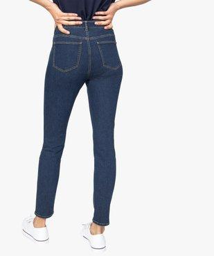Jean femme coupe Slim 5 poches vue3 - GEMO C4G FEMME - GEMO