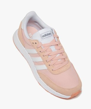 Baskets femme bicolores à lacets – Adidas Run 60s vue5 - ADIDAS - Nikesneakers