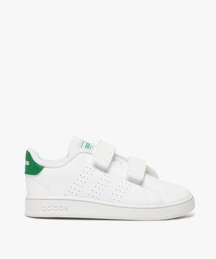 Baskets garçon unies à scratch – Adidas vue1 - ADIDAS - Nikesneakers