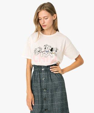 Tee-shirt femme large - Disney Animals Les 101 dalmatiens vue1 - DISNEY DTR - GEMO