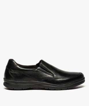 Mocassins homme confort unis à enfiler vue1 - ZEN AIR - Nikesneakers