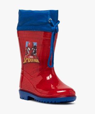 Bottes de pluie garçon à col ajustable – Spiderman vue2 - SPIDERMAN - GEMO