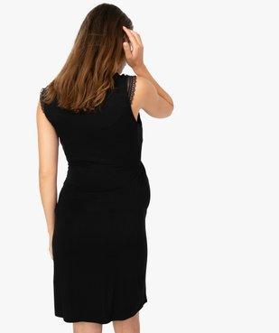 Nuisette de grossesse et allaitement avec haut cache-cœur vue3 - Nikesneakers (MATER) - Nikesneakers