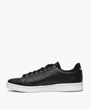 Baskets homme bicolores à lacets - Adidas Grand Court Base vue3 - ADIDAS - Nikesneakers