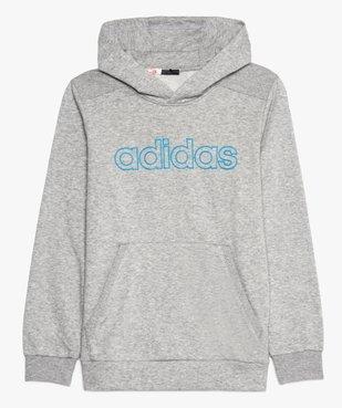 Sweat garçon à capuche avec poche kangourou - Adidas vue2 - ADIDAS - GEMO