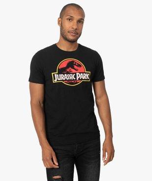 Tee-shirt homme avec motif Jurassic Park vue1 - NBCUNIVERSAL DT - GEMO