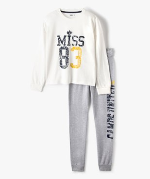 Pyjama fille bicolore – Camps United vue1 - CAMPS UNITED - Nikesneakers
