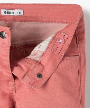 Pantalon fille coupe slim - Ultra résistant vue2 - GEMO C4G FILLE - GEMO
