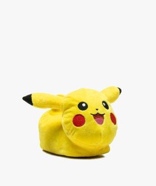 Chaussons garçon en volume - Pikachu vue2 - POKEMON - GEMO