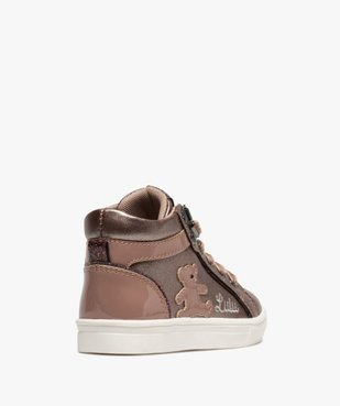 Baskets fille semi-montantes métallisées – LuluCastagnette vue4 - LULU CASTAGNETT - Nikesneakers
