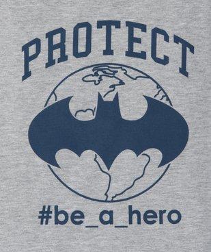 Tee-shirt garçon manches courtes imprimé Batman - DC Comcics vue2 - DC COMICS - GEMO