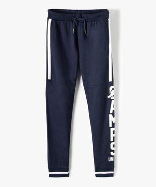 Pantalon de jogging garçon bicolore – Camps United vue2 - CAMPS UNITED - GEMO