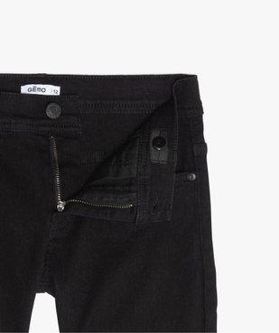 Jean garçon coupe skinny 5 poches vue3 - Nikesneakers (JUNIOR) - Nikesneakers