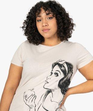 Tee-shirt femme à manches courtes imprimé - Disney vue2 - DISNEY DTR - Nikesneakers