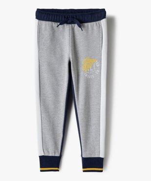 Pantalon de jogging garçon multicolore – Camps United vue2 - CAMPS UNITED - GEMO