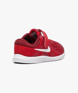 Baskets basses lacets et scratchs Nike Revolution 4 vue4 - NIKE - GEMO
