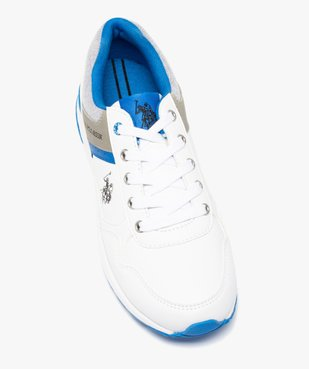 Tennis garçon multi-matières à lacets – US Polo Assn vue5 - US POLO - GEMO