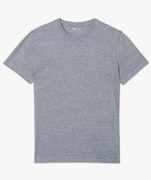 Tee-shirt homme à manches courtes et fines rayures vue4 - GEMO (HOMME) - GEMO