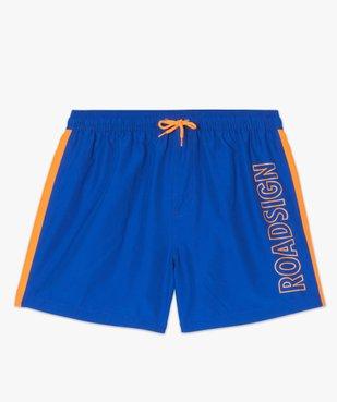 Short de bain homme sportswear - Roadsign vue4 - ROADSIGN - GEMO