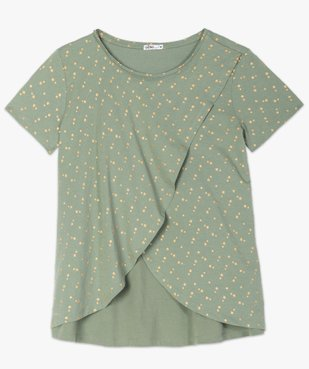 Tee-shirt de grossesse et d'allaitement à motifs vue4 - GEMO (MATER) - GEMO