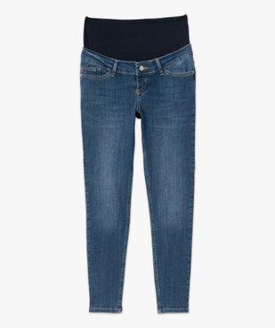 Jean de grossesse coupe Slim avec bandeau bas vue4 - Nikesneakers (MATER) - Nikesneakers