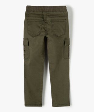 Pantalon garçon multipoches en matière résistante vue4 - Nikesneakers C4G GARCON - Nikesneakers