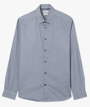 Chemise homme imprimée coupe slim vue4 - Nikesneakers (HOMME) - Nikesneakers